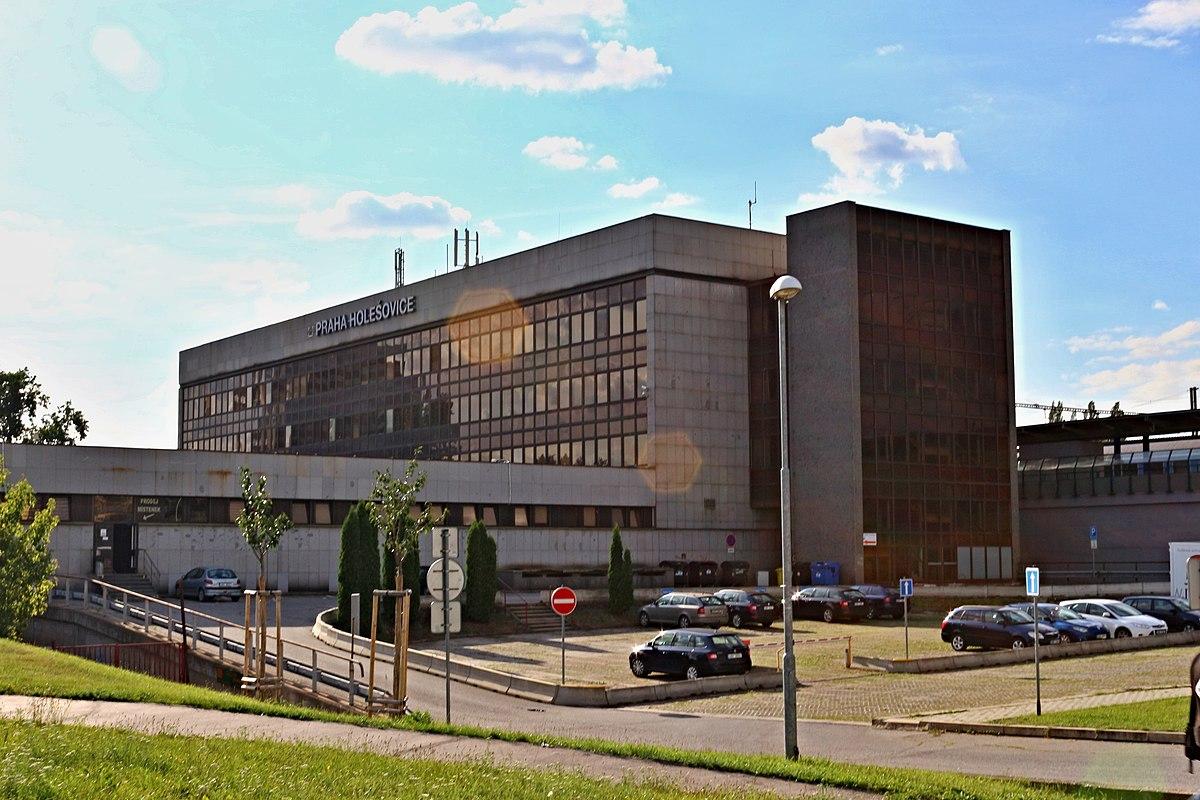 nádraží Praha Holešovice