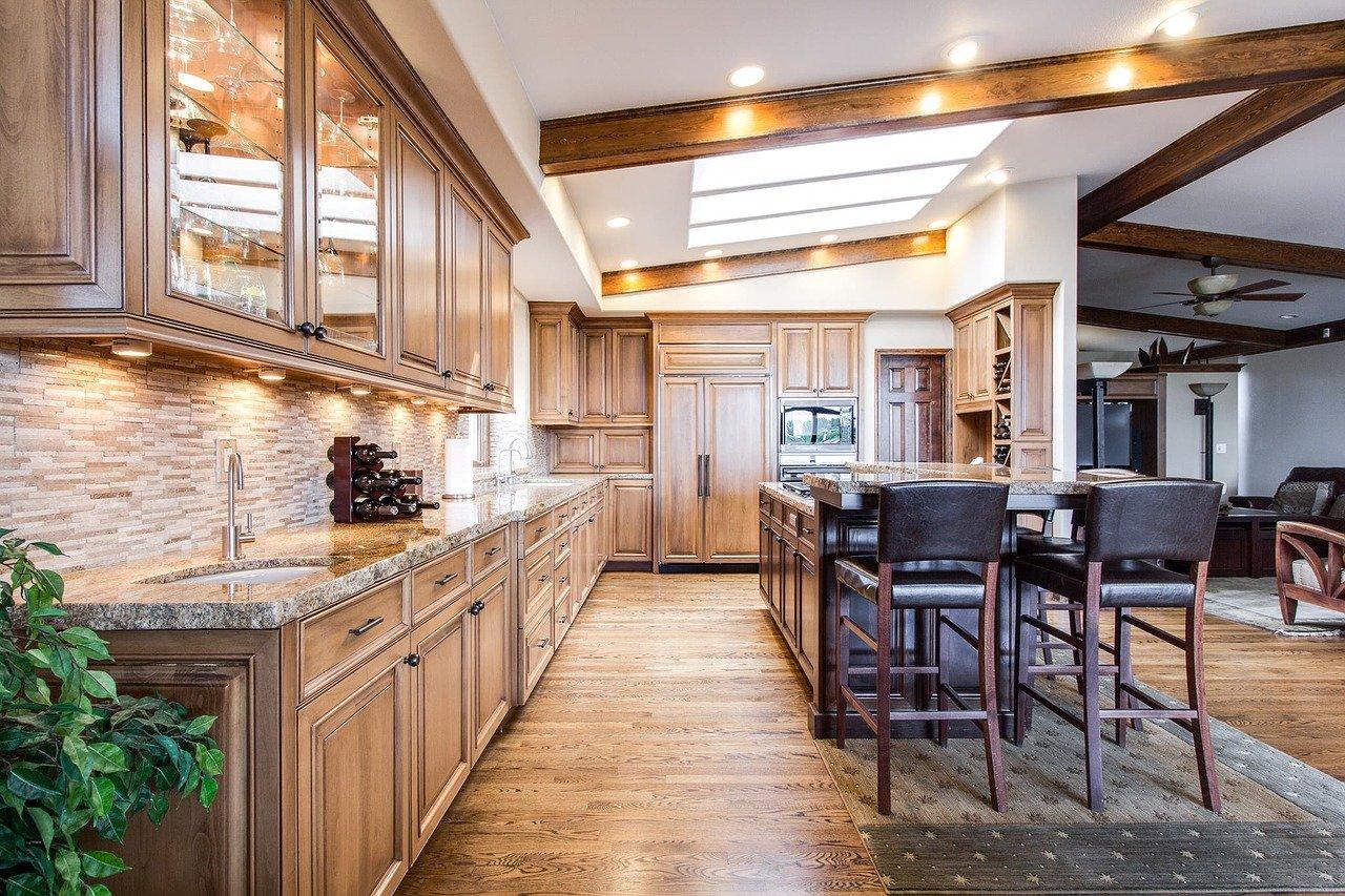 kuchyň / hypotéky