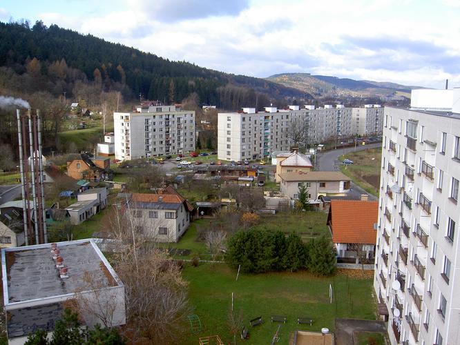 Ústí nad Orlicí - sídliště Hylváty