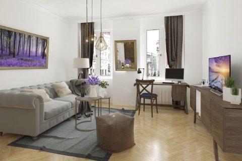 Zájem o malé byty ve městech rapidně roste. Vyžadují je zejména mladí, pořizují se také jako investice