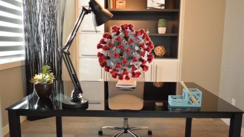 Home office - koronavirus