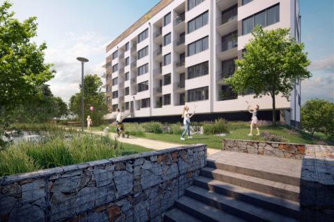 Developer Finep prodal vPraze fondu Zeitgeist 70 nájemních bytů